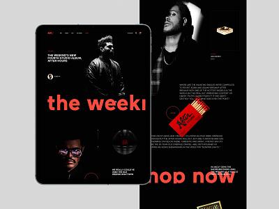 ABC - Journal weekend fashion design shopify shop ecommerce app ecommerce fashion web design motion concept journal magazine efir design creative web minimal clean ui