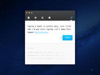 Twitter app for OS X
