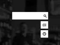 Search and buttons