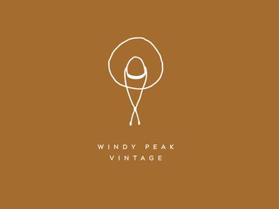 Windy Peak Vintage Logo