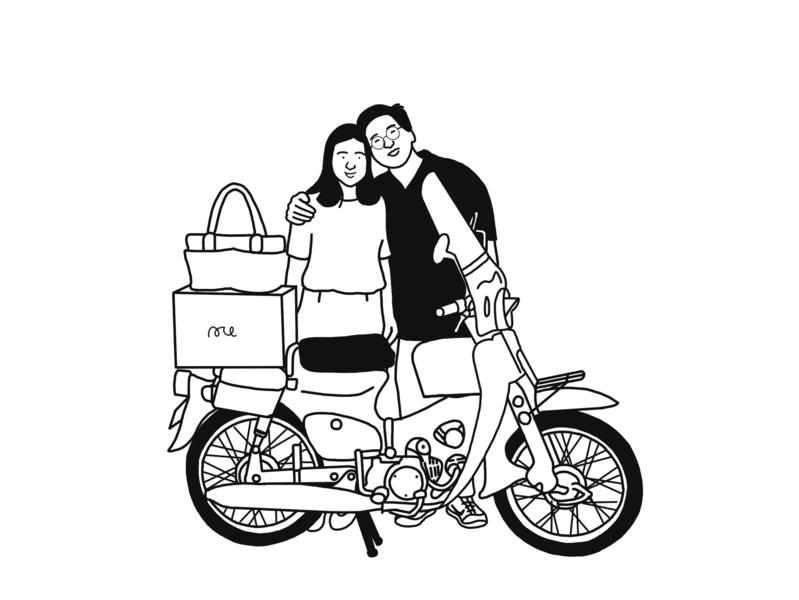 C70 vector animation user jia one book illustration art line animation potrait landingpage icon a day ui illust character aji setiawan jiaone illustration digital illustration design interface illustration design