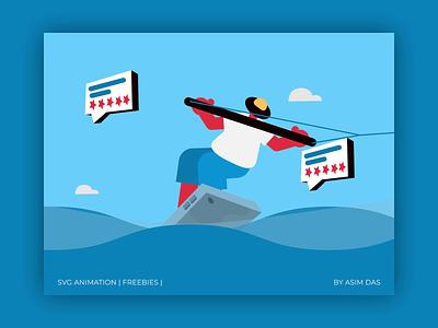 Testimonials | SVG Animations | Freebies download assets figma freebie freebies svg ui graphic design illustration free design das asim motion graphics animation 2d