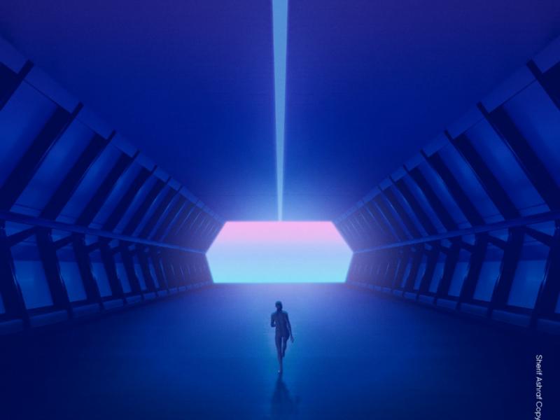 Hope hope artwork poster hologram