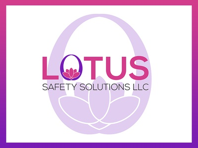 Lotus Safety Solutions LLC Logo illustrator identity