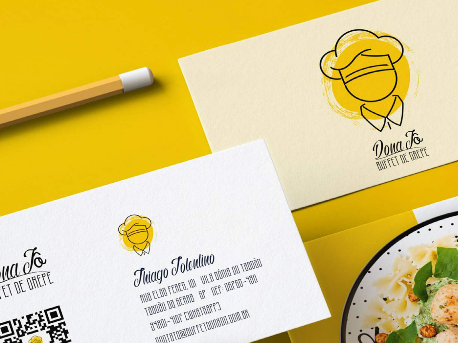 Buffet De Crepe And Pasta Rebrand By Jaketeme Zapelloni On