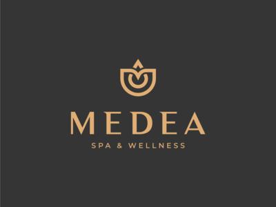 Medea logo design