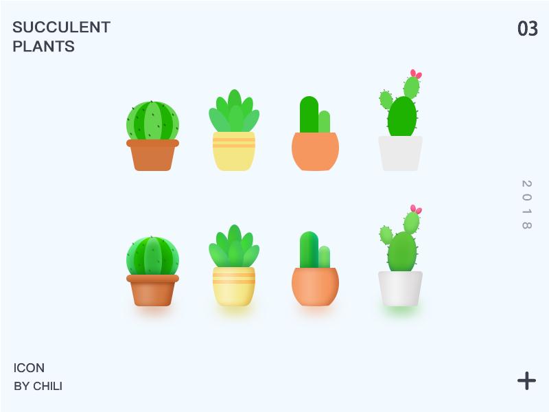 icon_succulent plants icon