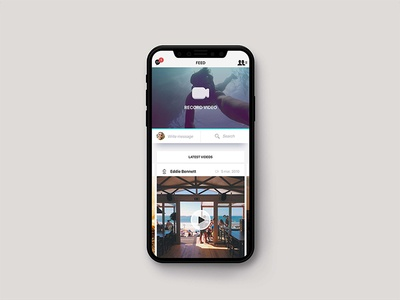 Video social network app ios app network social video