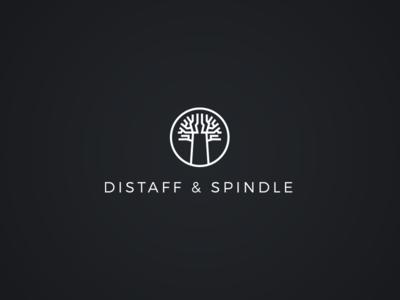 Distaff & Spindle / Logo Design