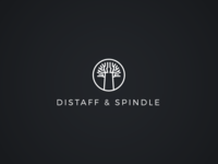 Distaff & Spindle / Logo Design
