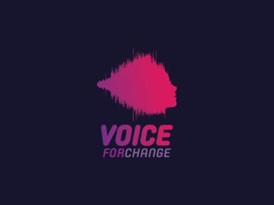 Voice For Change / Logo Design
