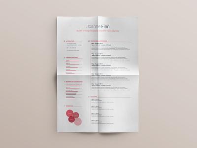 Free Resume template - vol. 2 customizable brand professional colors modern curriculum cv resume flat photoshop template