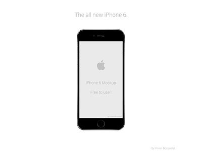 iPhone 6 Mockup iphone apple mockup free design freebie iphone6