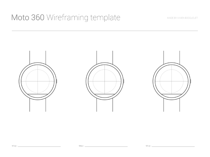 Moto 360 Wireframing template moto360 moto 360 smartwatch psd free download google android pdf