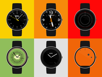 Launching my Android Wear watch faces microsite