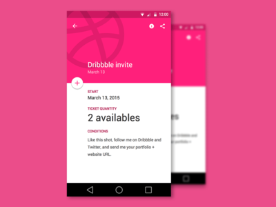 Dribbble invite availables