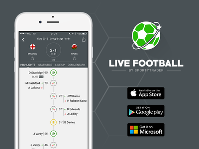 Live Football, the best football live score app ! windows phone android ios app health sport soccer football