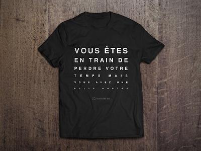 T-Shirt idea for La Petite Trotteuse fashion watches t-shirt wear