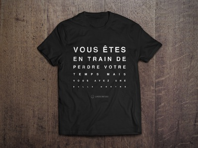 T-Shirt idea for La Petite Trotteuse fashion watches t-shirt wear