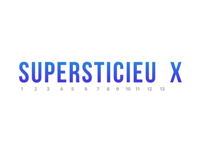 Super 13 no other tag afraid bebas font supersticieux 13 super