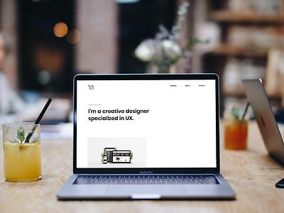 New website online ! portfolio webdesign design html css integration development website