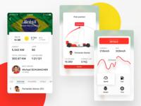 Formula 1 iOS app Prototype