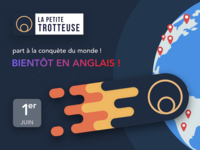 La Petite Trotteuse is coming in English !