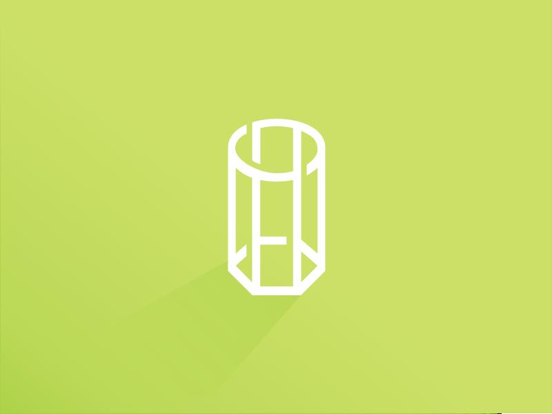 Impossible Shape? abstact monogram vector illustration design