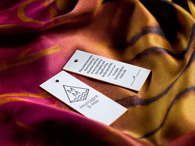Montagne & Mer design print design letterpress brand and identity