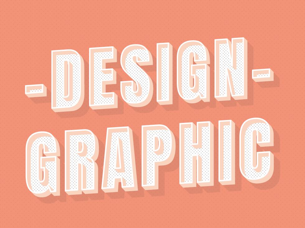 - Design Graphic - graphic illustrator trazo logotype 3d design typography art tipografía colors diseño