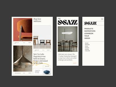 Concept UI/UX Design art direction webdesign figmadesign minimal creative interaction ui