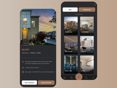 Real-Estate mobile app