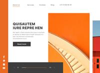 Main Page Web Design