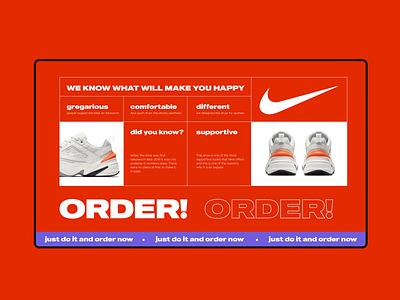 Nike Tekno M2 Concept Web clean minimal design creative ux interaction colorful design ui tekno nike