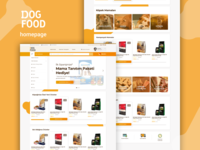 DOGFOOD online experience concept