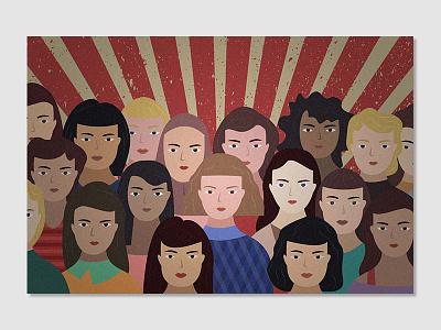 Feminism feminism article illustration