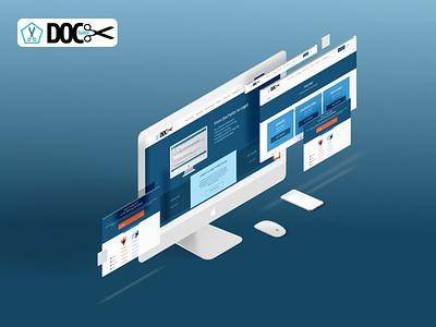 Doctailor web website app ux ui design