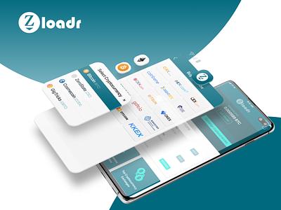 Zloadr app ux ui design