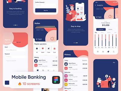 Mobile Banking finance mobile fintech banking app