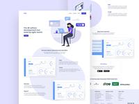 Software Development Landing Page