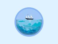 Sea 🌊 ⛵ 🦈