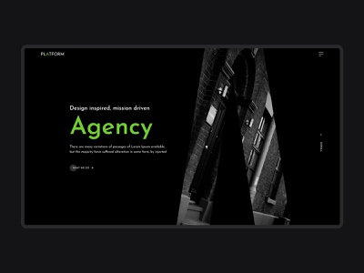 Header Design Day 1 website header agency website landing page header header agency website landing page web design landing page design design landing page concept ux ui