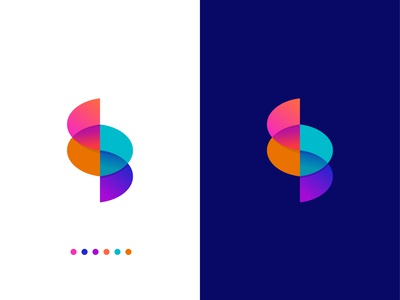 S for Sysmo | Logo concept for a medical system app.