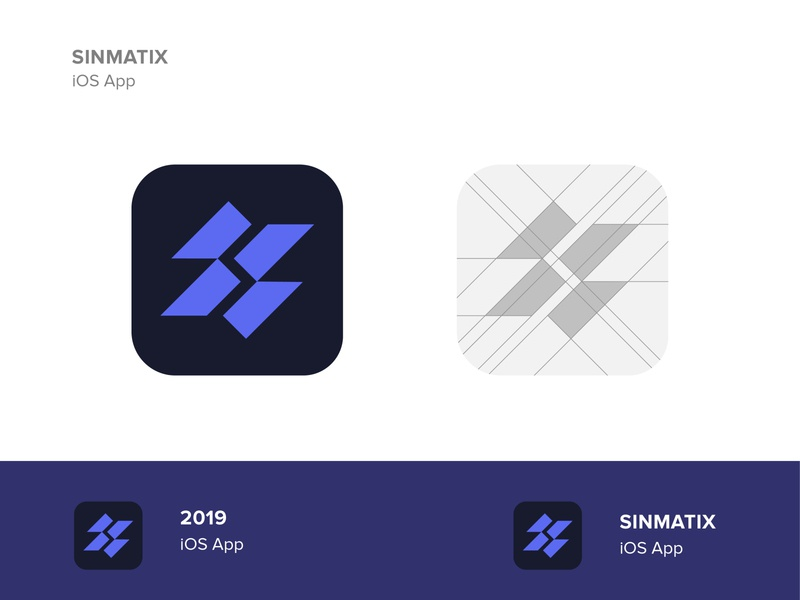 Sinmatix   Apps builder set idenity brand design s letter logo s logo vector ios app design icon ui web ios guide app builder app design app geometric icon symbol logo design ui mark modern logo branding