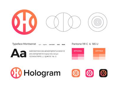 Hologram - Brand Identity