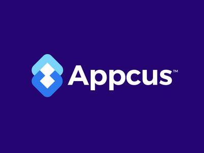 Appcus, logo design