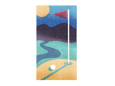 Golf club apparel graphics abstract art design graphic illustration