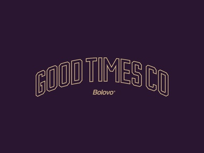 GOOD TIMES CO typedesign