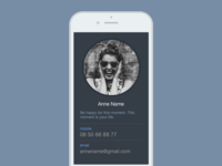 Daily UI 006: User Profile