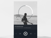 Daily UI 009 : Music Player